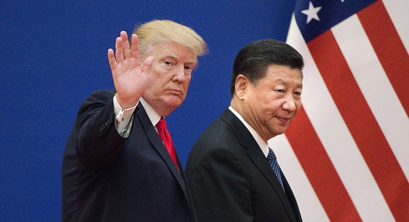 donald trump, Xi jinping, american flag, fashion industry