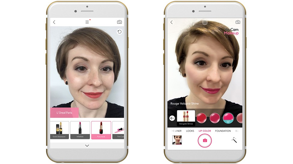 l'oreal, augmented reality, make-up, app, smartphone