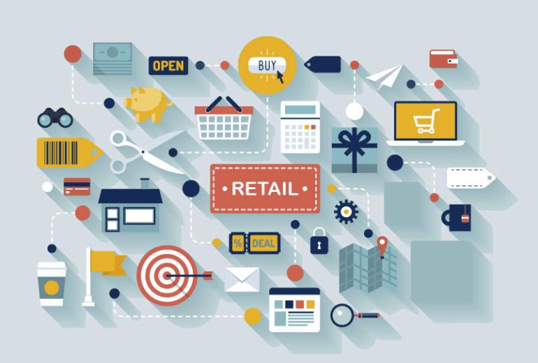 retail solutions, pixelpool, info graphic, apparel