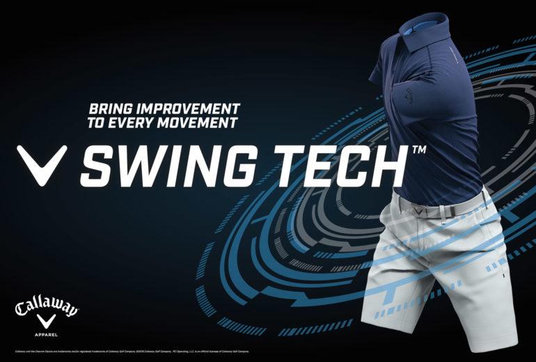 golf swing, render, animation, callaway, blue polo, swing tech